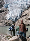 Larry_at_glacier